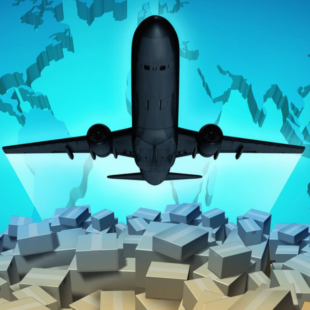 Air freight and cargo delivery service